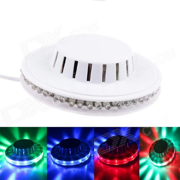 Sunflower RGB 8W 48LED Light 2-Mode Auto / Sound Control Stage Lamp - White летняя шина continental 4x4 contact 275 55 r19 111v fr mo