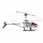 DH27789-2 Shockproof 3-CH Mini R/C Helicopter w/ IR Remote Control - White + Red (6 x AA)