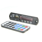 LSON Bluetooth MP3 Player Decoder Module w/ Remote Controller - Black