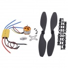 A2212 1000KV Brushless Motor w/ESC and Propeller for FPV - Multicolor