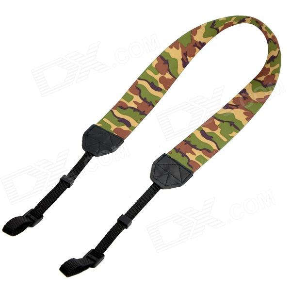 Stylish Lightweight Strap for Digital Camera / DSLR Camera - Camouflage dslr vcr rig shoulder pad mount for 15mm rail system follow focus canon nikon