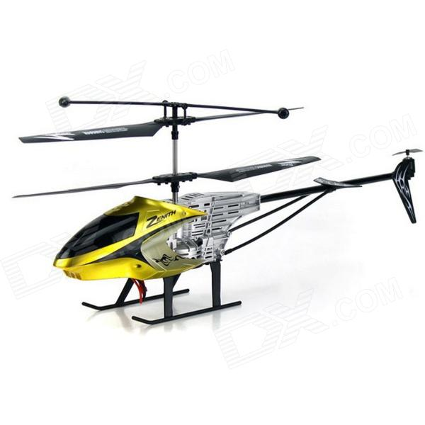 цены Shockproof 3.5-CH R/C Helicopter w/ IR Remote Control - Yellow (6 x AA)