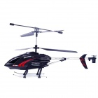 Heliway Shockproof 3.5-CH R/C Helicopter w/ IR Remote Control - Black (6 x AA)