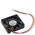 AV-0.13A 2-Pin HDD 9-Blade Cooling Fan - Black + Red (12V)