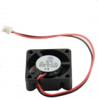 AV-0.13A 2-Pin HDD 5-Blade Cooling Fan - Black + Red (12V)