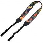 Stylish Marine Pattern Lightweight Strap for Digital Camera / DSLR Camera - Dark Blue + Golden