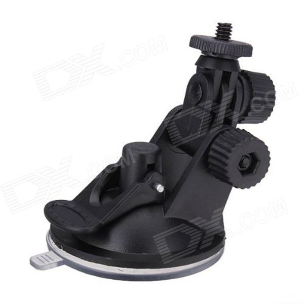 Car Suction Cup Mount TrIPOD Holder for DV�� GPS�� Camera�� GoPro - Black