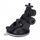 65mm Car Suction Cup Mount Tripod Holder for DVR / DV / GPS / Camera / GoPro - Black