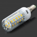 JRLED E14 7W 450lm 3300K 360SMD 5630 LED calienta el bulbo blanco (AC 220 ~ 240V)