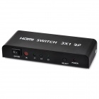 apower-link D-9310 1080p HD Video Audio Switcher - preto (3-In / 1 Out)