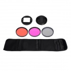 Fat Cat Professional 58mm Underwater Color-Correction Red +Magenta Dive Filter+ CPL for GoPro Hero3+