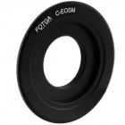 FOTGA C-EOSM C Mount CCTV Movie Lens to Canon M Mount Adapter - Black