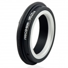 FOTGA M39-EOSM M39 Lens to Canon M Mount Adapter - Black + Silver
