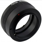 FOTGA OM-EOSM OLYMPUS OM Lens to Canon M Mount Adapter - Black + Silver