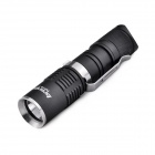 Bronte RA10-T LED 4-Mode 130LM Cool White Mini Flashlight w/ Clip - Black (1 x AA)