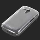 Simple Plain Crystal ABS Back Case for Samsung Galaxy Trend Duos / S7562 - Transparent