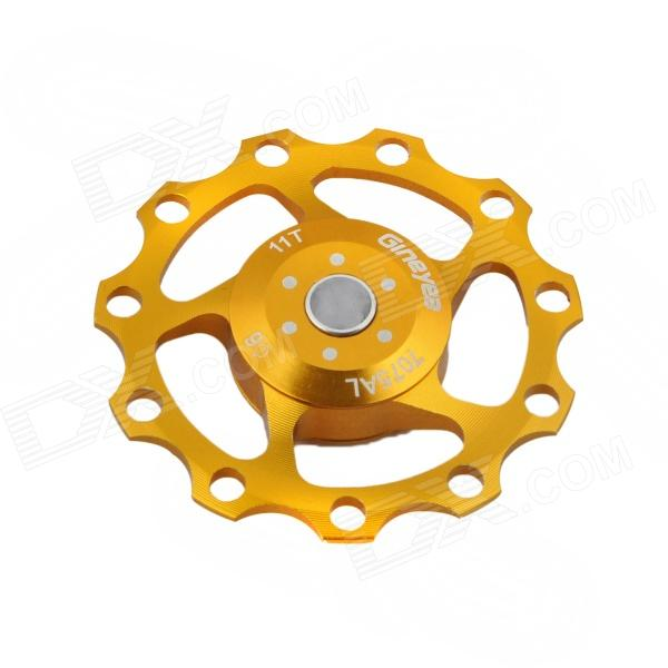 YZ-01 Bicycle Aluminum Alloy Wheels Rear Derailleur Pulley - Golden