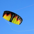 Qunlon Crom 2 3-Line Power kite - Black + Red + Yellow (3 Stere)