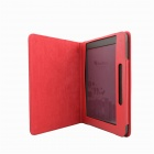 Protective PU Leather Case Cover Stand for Pocketbook Color Lux - Red