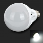 E27 9W 220LM 6500K Cool White 33-2835 LED Light Bulb - White