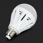 E27 9W 220lm Cold White 33-2835 LED Light Bulb - White