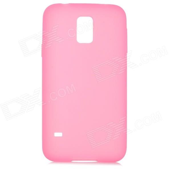 все цены на Protective Silicone Back Case for Samsung Galaxy S5 - Light Pink онлайн