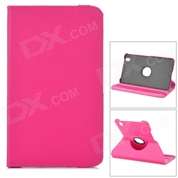 Stylish Flip-open PU Case w/ 360' Rotating Back + Holder for 8.4 Samsung Galaxy Tab Pro T320 stylish flower pattern flip open pu leather case w holder 360 rotating back for ipad 2 3 4