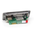 azultooth MP3 Decoder Placaw / FM / Stereo Amplifier - Prata + Preto