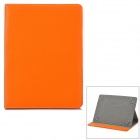 "Universal Protective PU Leather Case for 9~10"" Tablet PC - Orange + Grey"