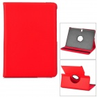 Flip-open PU Case w/ Holder + 360' Rotating Back + Auto Sleep for Samsung Galaxy Tab Pro T520 - Red