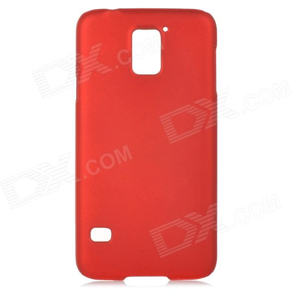 все цены на Protective Matte PC Back Case for Samsung S5 i9600 - Red онлайн