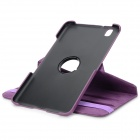 360 Degree Rotation Protective PU Leather Case for Samsung Galaxy Tab Pro 8.4 T320 - Purple