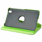 "Stylish Flip-open PU Case w/ 360' Rotating Back + Holder for 8.4"" Samsung Galaxy Tab Pro T320"