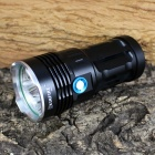 KINFIRE K50X 5-LED 2500lm 3-Mode White Flashlight - Black (4 x 18650)