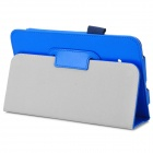 Ouvrez Etui cuir PU w / Stand + porte-stylo pour Samsung Galaxy Tab 3 Lite T110 / T111