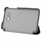 Flip-open PU Leather Case for Samsung Glaxy Tab3 Lite 7.0 T110 - Black
