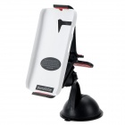 SUNSHINE PC 360 Degree Rotary Stand + Clip + Bracket for MOTO G - White + Black