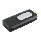 Miracast Wi-Fi Skjerm TV Dongle-Sort + Silver