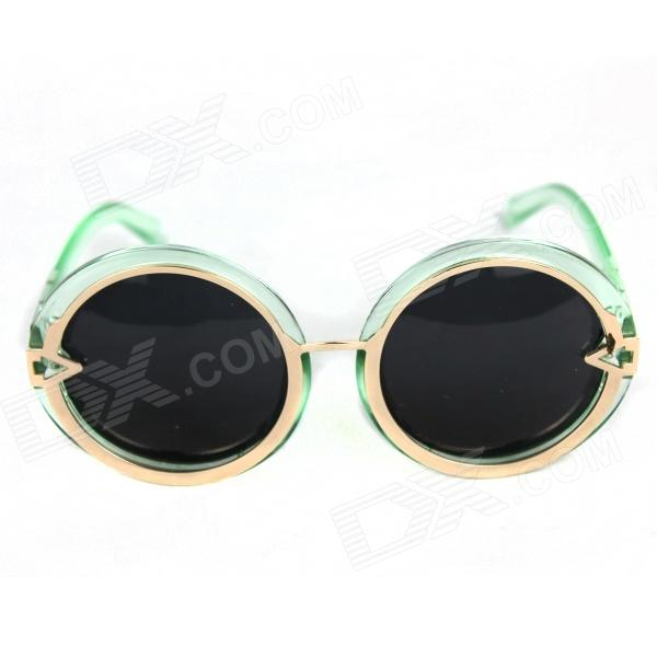 Retro Green Sunglasses Sun Glasses 2015 new women sunglasses large frame sun glasses men fashion sunglasses oculos