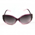 Stylish Women's UV400 Protection Sunglasses - Pink-Purple