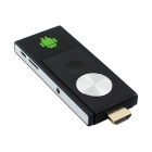 802 Dual Core Android 4.2 Google TV Player w/ 512MB RAM / 4GB ROM - Black + Silver