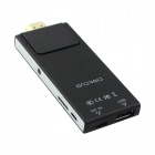 802 Dual Core Android 4.2 Google TV Player w / 512 Mo de RAM / ROM 4 Go - Noir + argent
