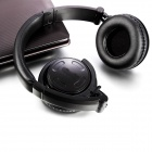 H2 Bluetooth V2.1 + EDR Stereo Headphones w/ SRS WOW / Micro USB / Mic / 3.5mm Jack - Black