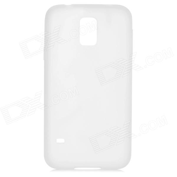 Protective Silicone Back Case for Samsung Galaxy S5 - White