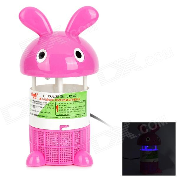 SHUNDI MC-368 Environmental-friendly Efficient Purple LED Mosquito Killer - Pink