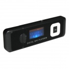 "1.1"" LCD MP3 Player w/ FM / TF slot - Black (4GB)"