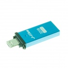J-like OTG USB 3.0 Flash Drive for Smart Phone + Tablet PC - Blue (32GB)