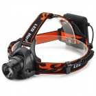 TH97 Cree XP-E R3 120lm 3-Mode White Headlamp - Black + Orange (4 x AA)