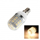 E14 5W 110lm 2500K 27 x SMD 5050 LED Warm White Light Lamp Bulb - White (AC 220~240V)