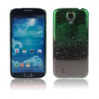 ENKAY Water-Drop Design Hard Case for Samsung Galaxy S4 i9500 - Green